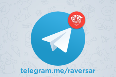 Raversar in Telegram